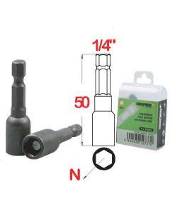 Magnetische dopsleutel CRV 50mm * 10.00 (2 stuks) - MDB50,110 S